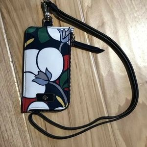 Kate Spade Card Case ID Lanyard Breezy Floral